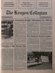Kenyon Collegian - February 28, 1991