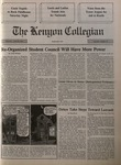Kenyon Collegian - April 18, 1991