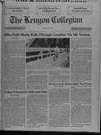 Kenyon Collegian - September 19, 1991