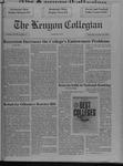 Kenyon Collegian - October 10, 1991