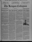 Kenyon Collegian - October 24, 1991