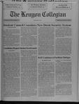 Kenyon Collegian - October 31, 1991