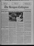 Kenyon Collegian - November 7, 1991