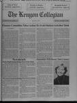 Kenyon Collegian - December 5, 1991