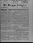Kenyon Collegian - December 12, 1991