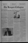 Kenyon Collegian - February 27, 1992