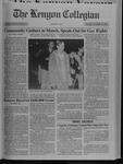 Kenyon Collegian - November 19, 1992