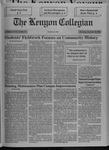 Kenyon Collegian - December 10, 1992