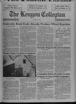 Kenyon Collegian - February 4, 1993