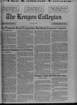 Kenyon Collegian - March 4, 1993