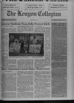 Kenyon Collegian - April 8, 1993