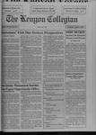 Kenyon Collegian - April 22, 1993