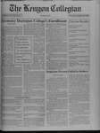 Kenyon Collegian - September 16, 1993