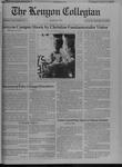 Kenyon Collegian - September 23, 1993