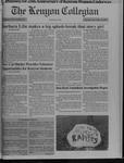 Kenyon Collegian - November 18, 1993