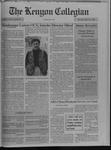 Kenyon Collegian - March 3, 1994