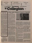 Kenyon Collegian - November 7, 1985