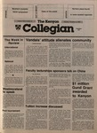 Kenyon Collegian - November 21, 1985