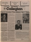 Kenyon Collegian - March 6, 1986