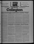 Kenyon Collegian - February 19, 1987