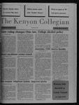 Kenyon Collegian - September 10, 1987