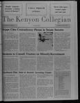 Kenyon Collegian - October 8, 1987