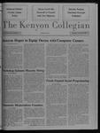 Kenyon Collegian - November 5, 1987
