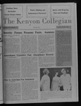 Kenyon Collegian - December 3, 1987
