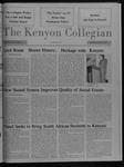 Kenyon Collegian - December 10, 1987