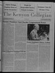 Kenyon Collegian - February 11, 1988