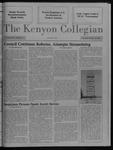Kenyon Collegian - February 18, 1988