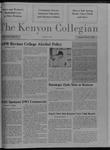 Kenyon Collegian - March 3, 1988