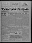 Kenyon Collegian - September 29, 1988