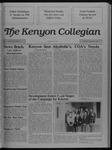 Kenyon Collegian - November 10, 1988