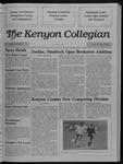 Kenyon Collegian - November 17, 1988