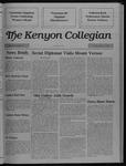 Kenyon Collegian - December 8, 1988