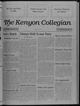 Kenyon Collegian - December 15, 1988