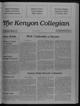 Kenyon Collegian - January 26, 1989
