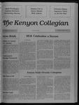 Kenyon Collegian - January 26, 1989