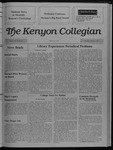 Kenyon Collegian - February 9, 1989