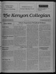 Kenyon Collegian - February 9, 1989