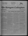 Kenyon Collegian - February 16, 1989