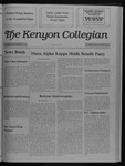 Kenyon Collegian - February 23, 1989