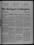Kenyon Collegian - March 2, 1989