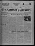 Kenyon Collegian - April 13, 1989