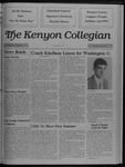 Kenyon Collegian - April 20, 1989
