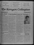 Kenyon Collegian - April 20, 1989
