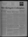 Kenyon Collegian - April 27, 1989