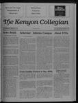 Kenyon Collegian - April 27, 1989