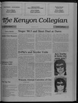 Kenyon Collegian - May 4, 1989